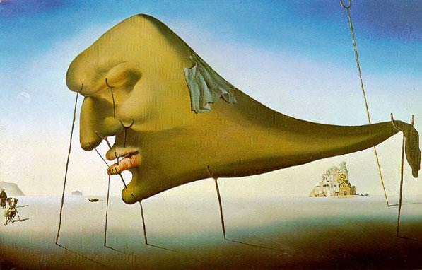 [ 'The Dream', Salvador Dali ]