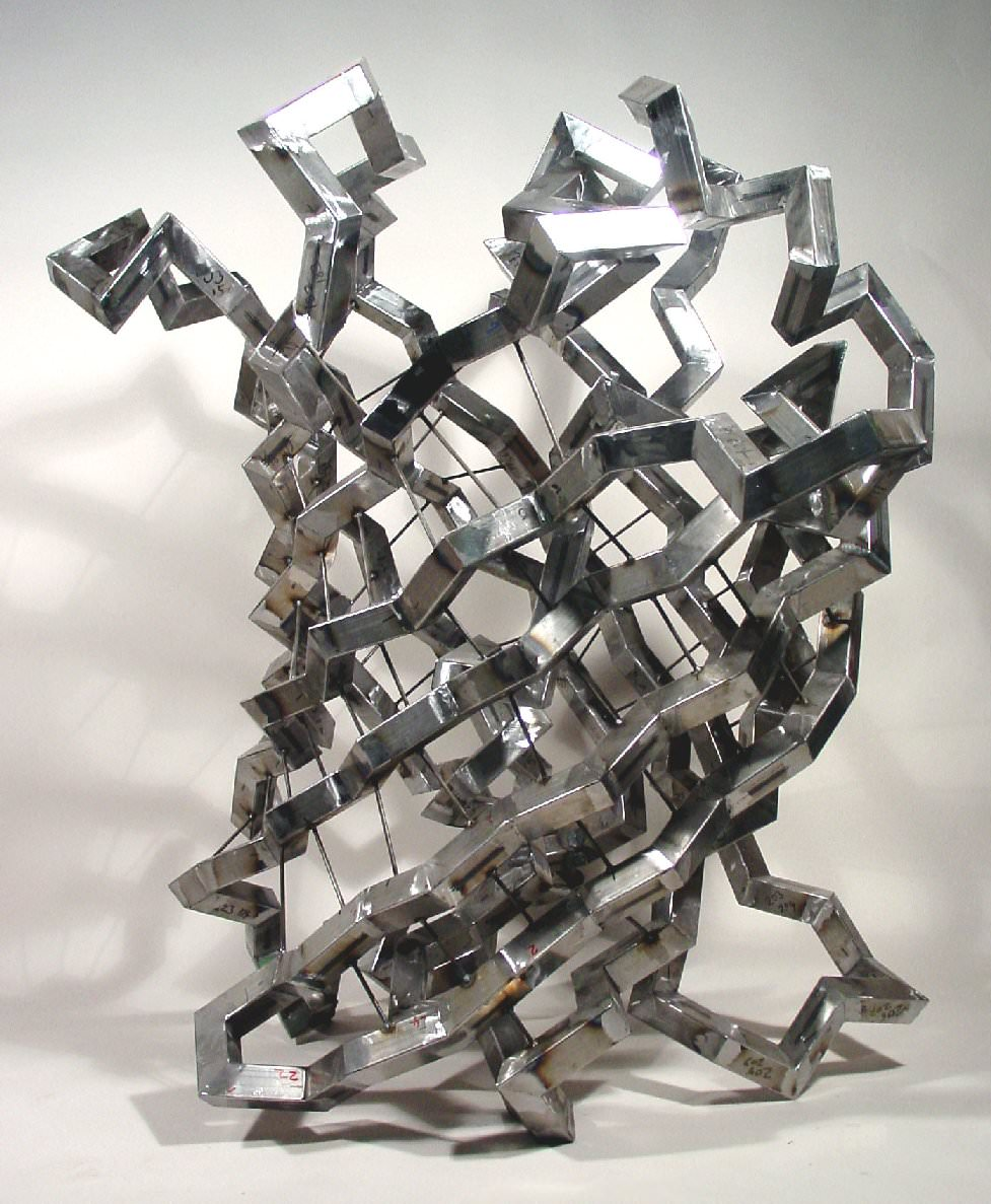 [ GFP in steel, Julian Voss-Andreae, 2004
