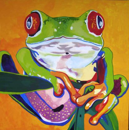 ['<em>Red Eyed Tree Frog</em>' ]