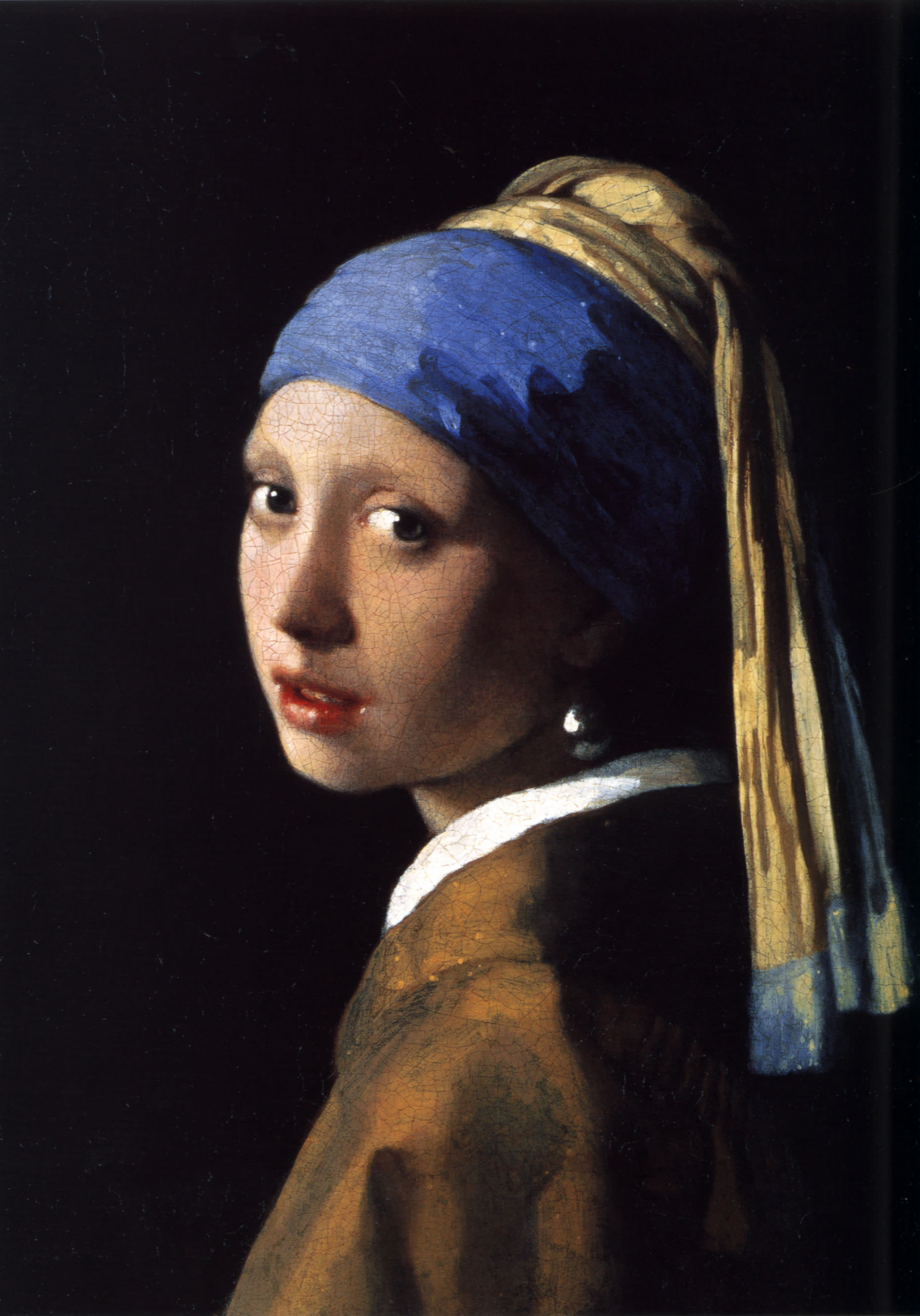 [�<em>The girl with the pearl earring (1665)</em>� ]